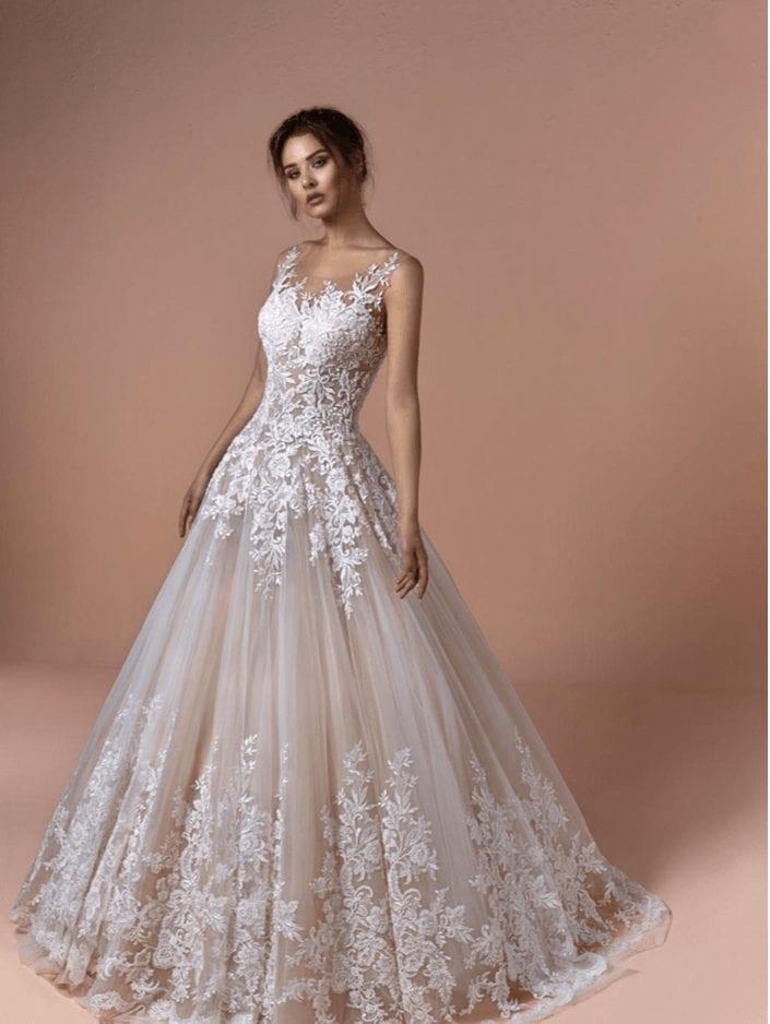Brautmode Prinzessin