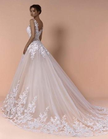 Prinzessinnen Hochzeitskleid Spitze