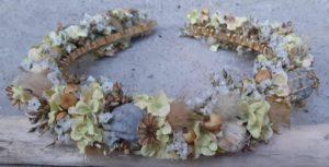 Haarkranz aus Seidenblumen