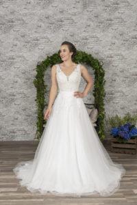 Ausschnittvarianten bei Brautkleidern